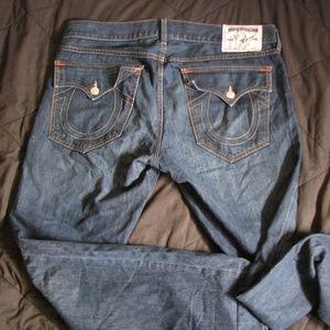 True Religion Boot Cut Jeans, 38x33